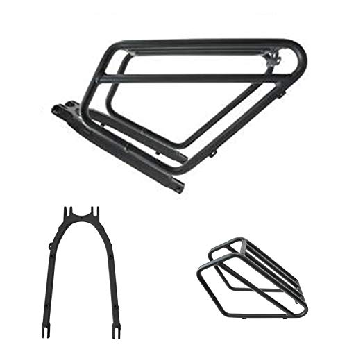 Why Should You Buy Mukkpet Rattan Fat Bear Rear Rack-Bicycle Touring Carrier Plus with Seat Stay, Fr...