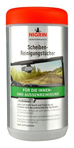 NIGRIN 74647 Scheiben-Reinigungs-Tücher, 36 Stück