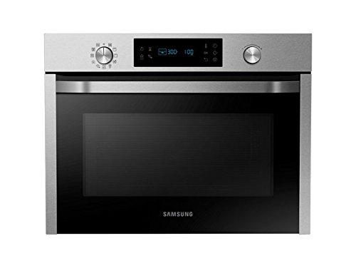 Samsung NQ50J3530BS Forno Compatto Multifunzione da Incasso, Finitura Inox Antimpronta da 55.5 cm