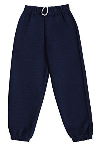 Dalsa Pantalones de chándal de forro polar para niños y niñas