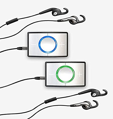 Ceecoach Bluetooth Kommunikation Und Gegensprechanlage Für Reitsport, Wintersport, Industrie, Silber, Duo Kit