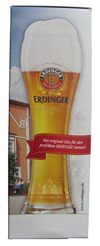 Erdinger - Exclusiv-Glas - Weizenbierglas 0,5 l.