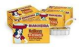 RIANXEIRA. Pack de 8 latas x 111g. de Mejillones en Escabeche Pequeños....