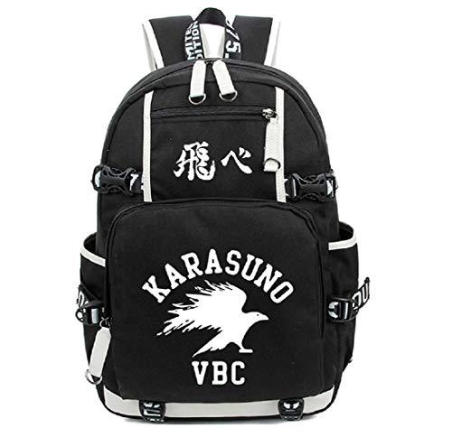 YOYOSHome Haikyuu! Anime Cosplay Noctilucence Rucksack Messenger Tasche Rucksack Schultasche