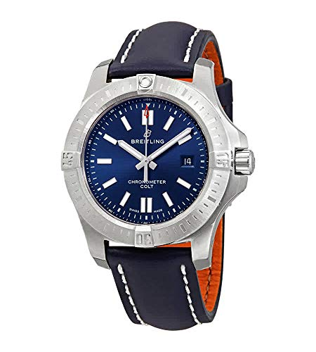 Breitling Chronomat Colt Automatic 44 Reloj de hombre con esfera azul A17388101C1X1
