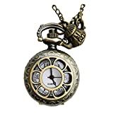 Alice in Wonderland Watch Necklace Jewelry Costume Gothic Lolita Accessories