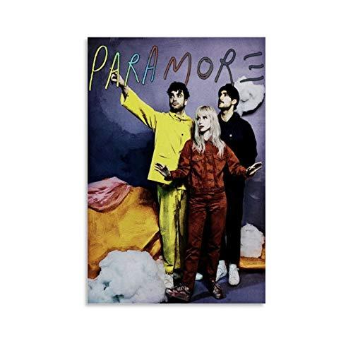 QWSDE Paramore Hayley Williams Grammy Awards Rock Star Poster 2 Leinwand-Kunst-Poster und Wandkunstdruck, modernes Familienschlafzimmerdekoration, 40 x 60 cm