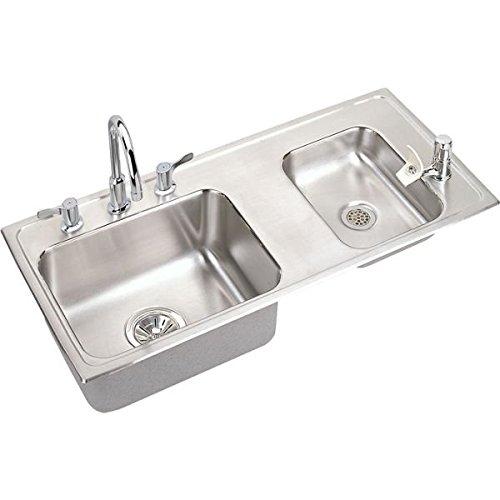 Fantastic Deal! Elkay DRKAD371750RC Sink, 37.25 x 17 x 5, lustertone