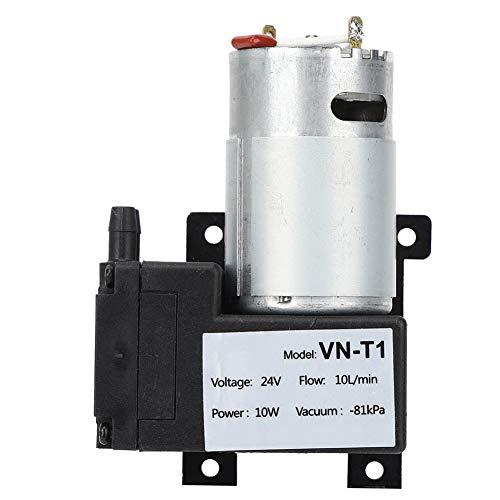 Bomba de vacío DC 12V/24V Mini, 10L/min Compresor de aire de bajo ruido VN-T1((DC24V))