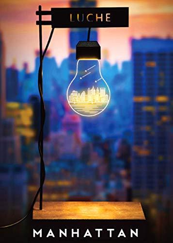 Aqua-Tropica ATLL-009 LUCHE Manhattan Lampe de Croissance, veilleuse, Lampe de Plante, éclairage indirect, Wabi-Kusa, Nano Aquarium, lumière de Lune