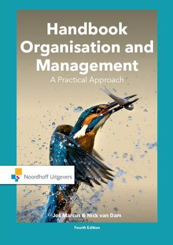 Handbook Organisation and Management: A Practical Approach