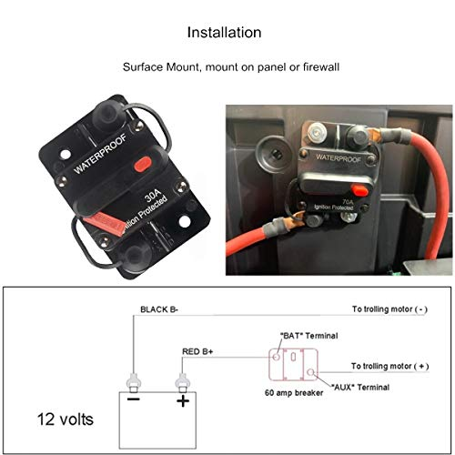How to Mount A Trolling Motor Circuit Breaker Manual Reset