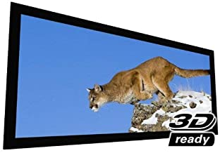 "EluneVision Reference AudioWeave 4K Fixed Frame Screen - Audio-Transparent Material - 140"" (129"" x 55"") Viewable - 2.35:1"