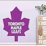 Canada Toronto Maple Leaf Wall Decal Moda Decoración Para El Hogar Para Niños Sala De Estar Art Mural Deor Decal Artículos Para El Hogar 42 * 57Cm