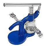 Uhrenpresse-Set, Gehäuseschließer, Kunststoff, Blau, mit 12 Stanzformen, Stanzwerkzeug, Glasmontage, Uhrmacher-Reparaturset, Schraubendreher-Sets - 3