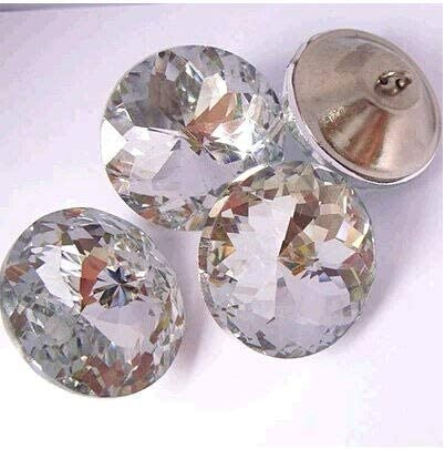 Lysee Rivets - 45mm Crystal buckle Soft 45mm Pack Diamond Button