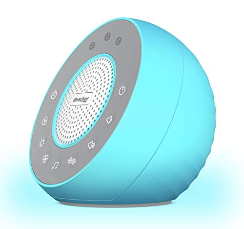 REACHER R2 White Noise Machine and Night Light with 31 Soothing Sounds, 0-100 Dimmable Color...