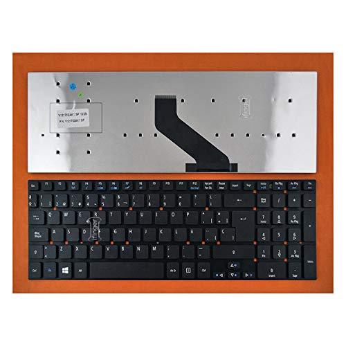 IFINGER Tecaldo Español Compatible para Acer Aspire 5755 5830 V3-531 V3-571 E1-530 E15 E5-571 5830tgsp