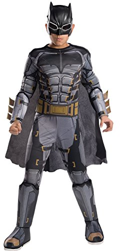 Rubie's Costume Boys Justice League Deluxe Tactical Batman Costume, Large, Multicolor