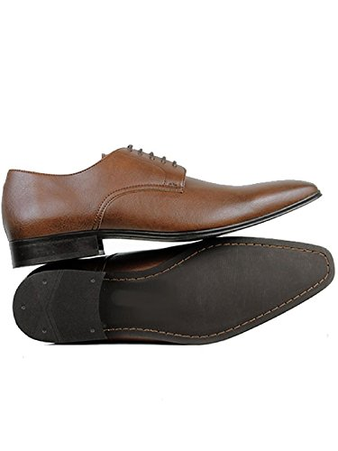 Will's Vegan Shoes Mens Slim Soles-UK 8 / EU 42 / US 9 Chestnut