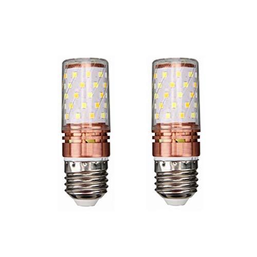 Tanxinxing, lampadina LED E27 AC/DC 24V-40V DC24-60V 10W 2835SMD 60LED per camper marine, luce solare e griglia fuori rete, confezione da 2 pezzi Bianco freddo.