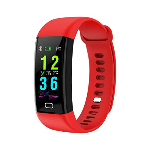 YANGPANGZI second temperature measurement, sports bracelet, heart rate, blood pressure monitoring, body temperature, smart bracelet, pedometer, waterproof