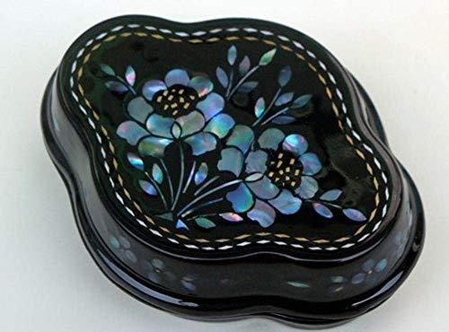 Cajas de joyería de, Raden Lacquerware Joyero Caja de Joyería Artesanía Nail Caja Caja de Anillo Caja Feliz Dulce Caja China Caja de Almacenamiento