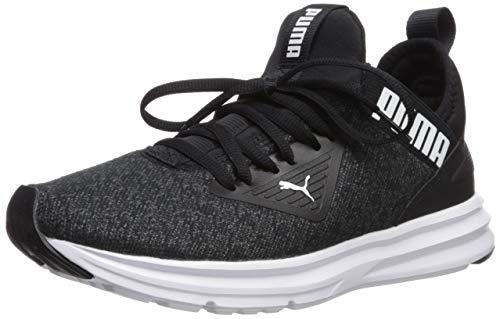 PUMA Women's ENZO BETA Sneaker, Black White, 11 M US