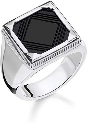 Thomas Sabo Men Silver Signet Ring - TR2211-698-11-62