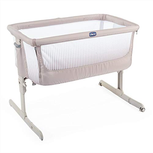 Chicco Berço Co-Sleeping Next2Me Dark Beige
