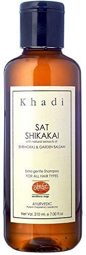 Khadi Shikakai Shampoo - Cabello Alimentación & Root Reforzar - 210 ml - por