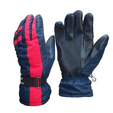 Gants de ski Homme Doigt complet Garder au chaud Enduit Ski Randonnée Moto Activités Extérieures Cyclisme / Vélo Hiver , dark navy , l