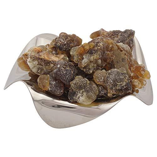 Encens Oman Al-Hojari Grade 4 - gros morceaux – Noir Brun - Boswellia Sacra - importation directe de première qualité- de 20 g à 1000 g (20 g)
