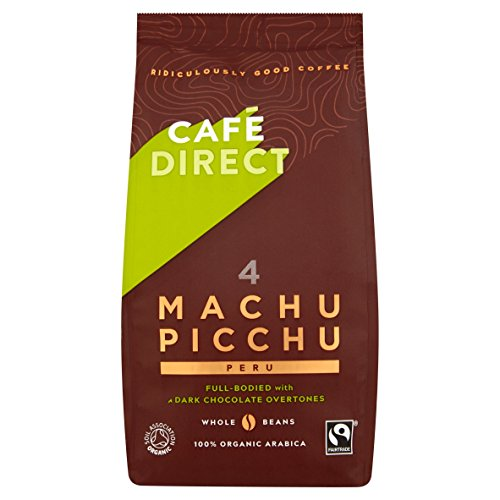 Cafédirect Fairtrade Machu Picchu Whole Bean Arabica...