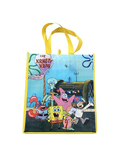 Spongebob Squarepants Large Reusable Tote Bag …