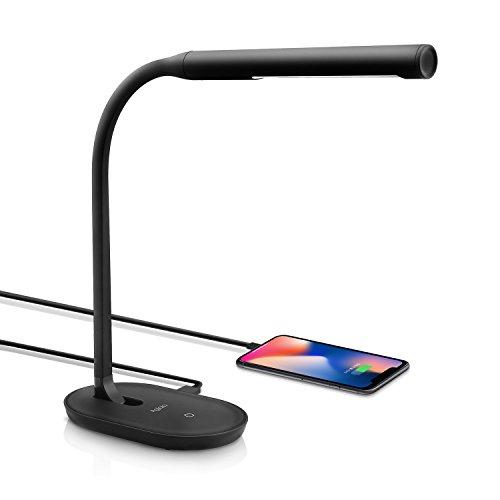Aglaia Lámpara Escritorio LED, Lámpara de Mesa USB regulable Recargable,...