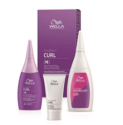 Wella CREATINE+ CURL N HAIR KIT 75+100+30ml, 1 Stück)