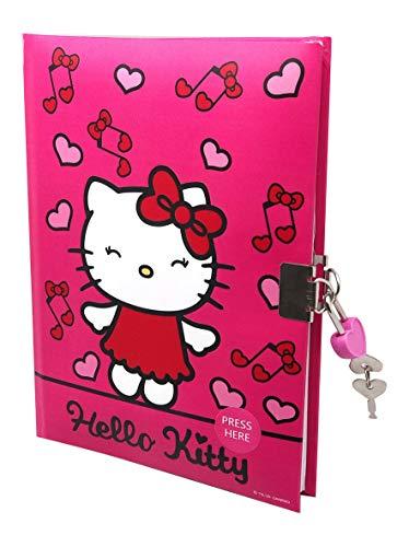 Kids Licensing Tagebuch Hello Kitty Girls A5 Papier rot/rosa