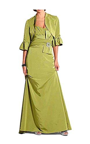 Heine Abendkleid mit Bolero Grün Größe 34