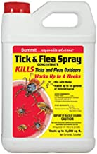 Summit...reponsible solutions. TICK & FLEA Spray - Concentrate - 1/2 Gallon, Natural, Model: 028-6