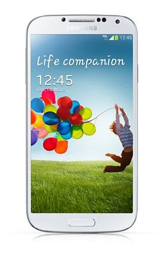 Samsung Galaxy S4 Smartphone (12,7 cm (4.99 Zoll) AMOLED-Touchscreen, 16 GB interner Speicher, 13 Megapixel Kamera, LTE, Android 5.0) - Weiß [EU-Version]
