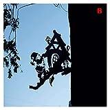 Märchen-Tal-Baum-Niederlassung Cartoon Themenstahl Statue Kunst Silhouette Dekoration für Hausgarten Yard Outdoor (Color : B)