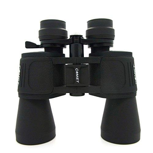 COMET Fernglas 10x-70x50 mit Zoom Dioptrienausgleich Feldstecher Binokular Jagdfernglas Spektiv