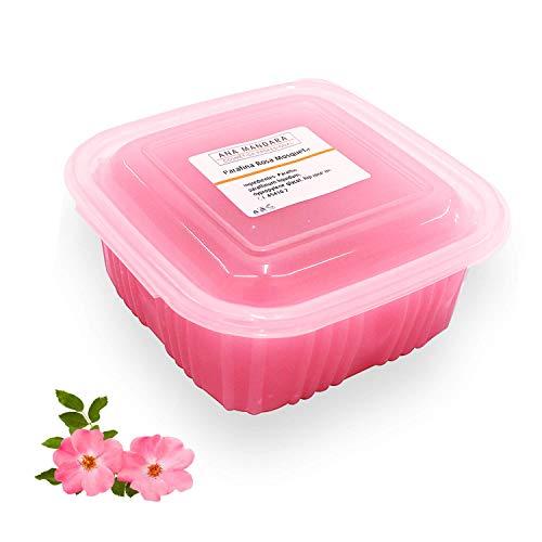 ANA MANDARA - Parafina con ROSA MOSQUETA 500 ml - 350 gr. Tratamiento de parafina para manos y pies.