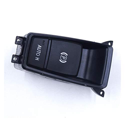 YFTGD Korean Pine Ajuste para BMW X5 E70 2006-2013 E71 E72 X6 EMF 61319148508 Interruptor de Control de Freno de estacionamiento Estacionamiento eléctrico Interruptor de Freno de Mano Botón