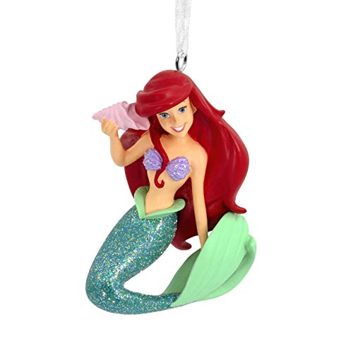 Hallmark Christmas Ornaments, Disney The Little Mermaid Ariel With Seashell Ornament