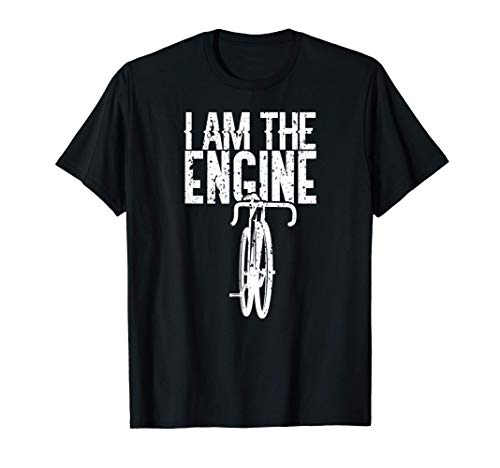 Bicycle I Am The Engine Mountain Biking For Cyclist T-Shirt