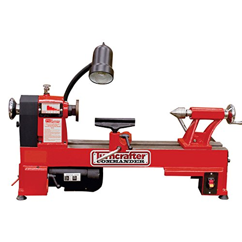 Find Discount PSI Woodworking KWL-1018 Turncrafter Commander 10 Multi-Speed Midi Lathe