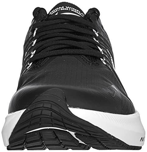 Nike Winflo 8, Running Mujer, Negro, Blanco, Gris Ahumado, Gris Lt Smoke, 40 EU