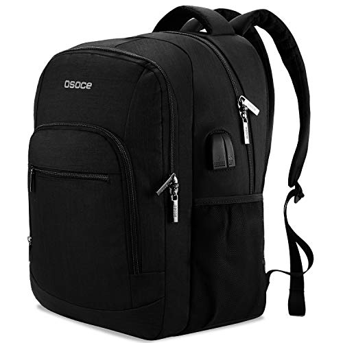 Laptop Backpack,Travel Laptop Back pack Bag with USB Charging Port,Water Resistant For 15.6 Inch laptop